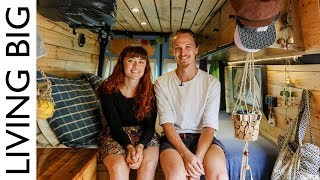 Download Couple Convert Van For Full Time Living And Travel in Australia Video