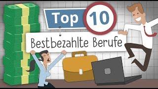 Download Die 10 Bestbezahlten Jobs in Deutschland: Wer verdient am Meisten? Video