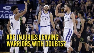 Download With rash of injuries, are the Golden State Warriors having playoff doubts? Video