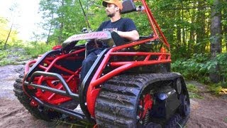 Download Extreme Offroad Tracked Wheelchair the Original Ripchair 2.0 Video
