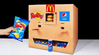 Download How to Make Ruffles McDonald's and Pepsi Vending Machine Video