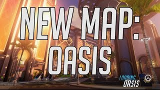 Download NEW MAP: OASIS Walking Guide - Overwatch PTR Video