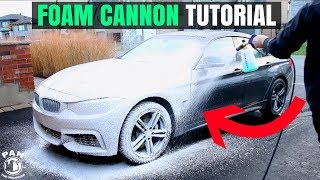Download FOAM CANNON CAR WASH TUTORIAL !! (+GIVEAWAY!!) Video