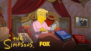 Download Donald Trump's First 100 Days In Office | Season 28 | THE SIMPSONS Video