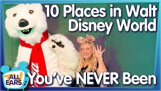 Download 10 Places in Walt Disney World You've NEVER Been! Video