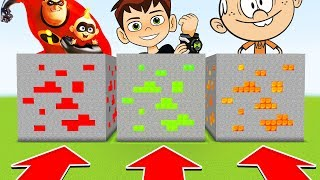 Download Do NOT CHOOSE THE WRONG ORE! (INCREDIBLES,BEN10,LOUDHOUSE)(Ps3/Xbox360/PS4/XboxOne/PE/MCPE) Video