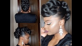 Download *PROTECTIVE STYLE* TWISTED FAUX HAWK UPDO Video