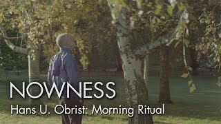 Download ″Hans Ulrich Obrist: Morning Ritual″ by Linda Brownlee Video