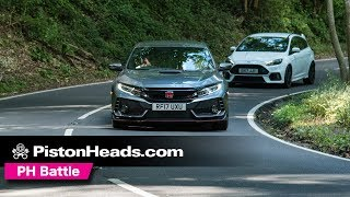 Download Ford Focus RS Mountune vs Honda Civic Type R | Round 2! Video