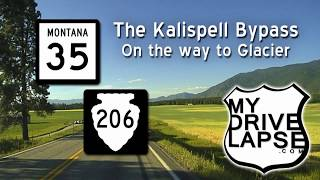 Download Kalispell Bypass: Montana 35 & 206, the road to Glacier NP Video