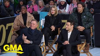 Download Stars of new James Bond film react to trailer l GMA Video