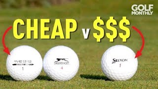 Download Cheap v Expensive Golf Balls Test!! Golf Monthly Video