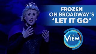 Download Frozen The Broadway Musical's Caissie Levy Performs 'Let It Go' Video
