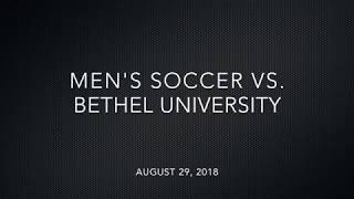 Download Highlights: Men's Soccer vs Bethel University Video