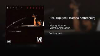 Download Nipsey Hussle feat Marsha Ambrosius - Real Big Video