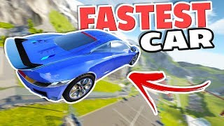 Download NEW CAR JUMP ARENA RECORD! FASTEST CAR IN BEAMNG! - 3 Awesome BeamNG Drive Mods Video
