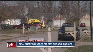 Download Fatal shooting rattles far east side Indy neighborhood Video