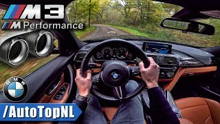 Download BMW M3 F80 Competition M PERFORMANCE EXHAUST LOUD! POV by AutoTopNL Video