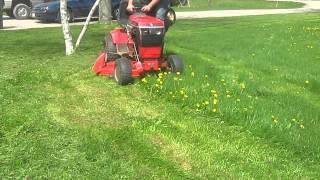 Download 1997 Toro Wheel Horse 48″ Side Discharge Lawn Mower Mowing Deck 78360 Video