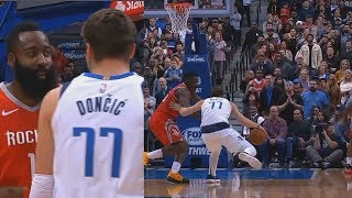 Download Luka Doncic Shows James Harden His Step Back Is Better After Harden Shows Off His Own Step Back! Video