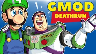 Download Gmod Ep. 92 - TOY STORY 4 TRYOUTS! - Death Run! (Delirious' Perspective) Video
