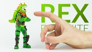 Download Rex (Fortnite Battle Royale) – Polymer Clay Tutorial Video