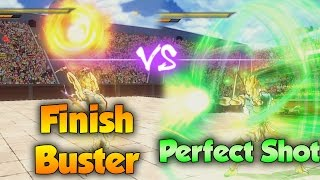 Download Finish Buster vs Perfectshot! Which Skill is better? Dragon Ball Xenoverse 2 Video