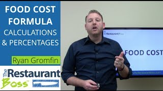 Download Food Costs Formula: How to Calculate Restaurant Food Cost Percentage Video