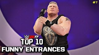 Download WWE 2K17 - Top 10 Funniest Entrances Part 7 ″GIMMICK SWAP″ Cena, Reigns, Lesnar & More! (PS4 & XB1) Video
