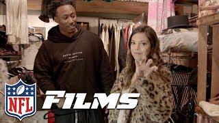 Download Katie Nolan & Brandon Marshall Go Antiquing | NFL Films Presents Video