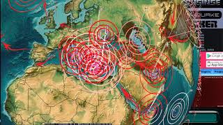 Download 10/14/2017 - Earthquake watch on West Coast USA + Europe struck as expected while on live Video