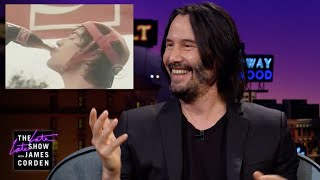 Download Keanu Reeves Watches His 1980s Coca-Cola Commercial Video