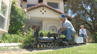 Download The amazing backyard railroad of Jim Sabin - full HD program Video
