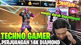 Download GILAKKK! 14K DIAMOND BUAT SPIN TECHNO GAMER DOANK! - Garena Free Fire Video