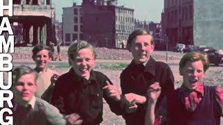 Download Hamburg 1948 - Einzigartige Filmaufnahmen in Farbe und HD Video