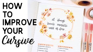 Download How To Improve Your Cursive Handwriting Video