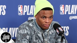 Download Russell Westbrook 'cheating everybody,' sending a bad message with interview antics | The Jump Video