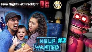 Download FIVE NIGHTS at FREDDY's HELP WANTED #2! Mom Plays & We GLITCHED the GAME! (FGTEEV FNAF Real Life?) Video