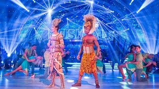 Download Lion King cast and pro dancers opening dance | Strictly | BBC One Video