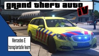 Download GTA 4 Mercedes E transplantatieteam Blue light run Video