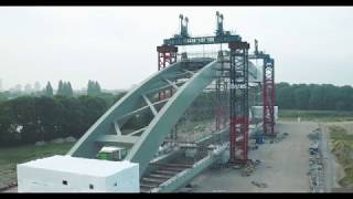 Download ProRail Spoorbrug Utrecht Drone video ″Geen Brug te Ver″ November 2017 Video