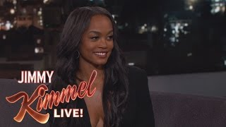 Download Jimmy Kimmel Gives The Bachelorette Rachel Lindsay a Lie Detector Test Video