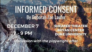 Download ″Informed Consent″   Thursday, December 7 at Sheafer Theater Video