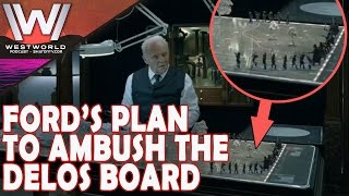 Download Westworld (HBO) Dr. Ford's Secret Plan to Kill the Delos Board Members Video