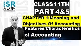 Download Accountancy Class 11 | Chapter 11 | Features/Characteristics of Accounting Video