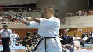 Download Okinawa WT 2009. Kobudo kata sai. Video