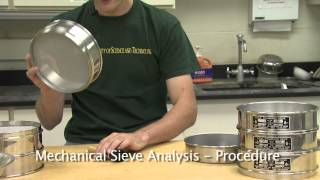 Download Particle Size Analysis (Sieves and Hydrometer) Video