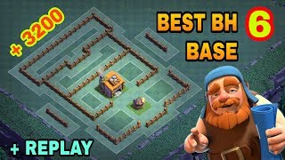Download BUILDER HALL 6 (BH6) BEST BASE WITH REPLAY PROOF   BH6 TOP DEFENSIVE TROLL BASE LAYOUT   Video