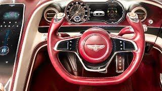 Download Bentley Electric Car INTERIOR Video Bentley EXP 12 Speed 6e INTERIOR 2019 CARJAM Video