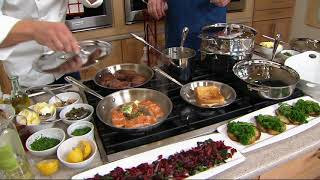 Download All-Clad Tri-Ply Stainless Steel 10-piece Cookware Set on QVC Video